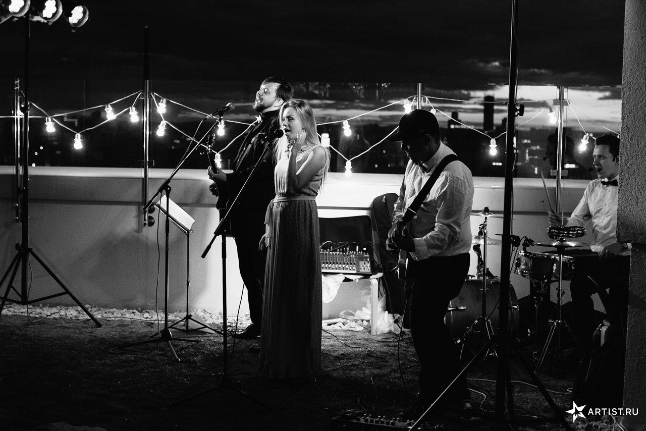 Фото 8 из 10 из альбома Прекрасная летняя свадьба  СУХОВ band (сухов бэнд)