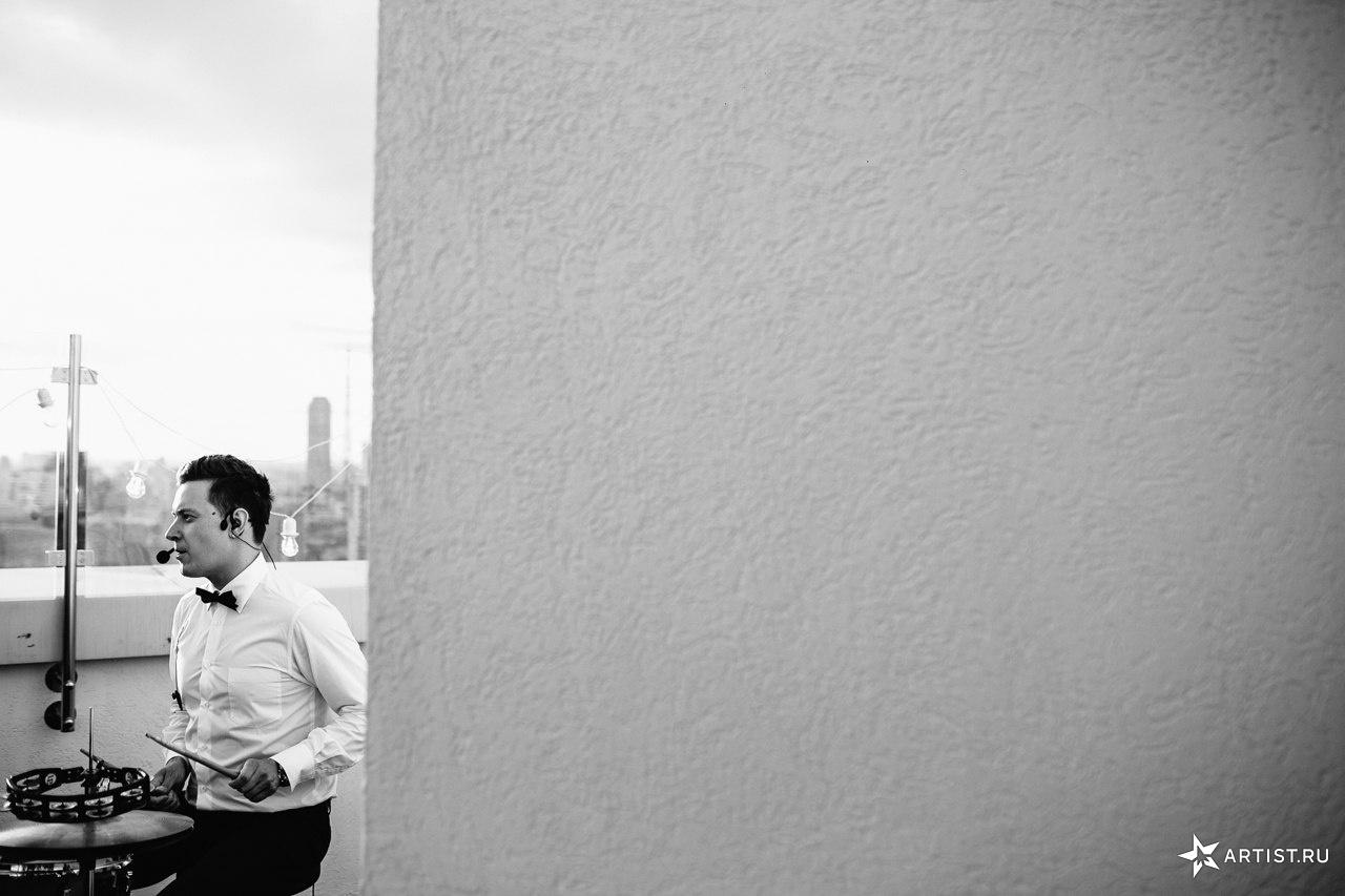 Фото 6 из 10 из альбома Прекрасная летняя свадьба  СУХОВ band (сухов бэнд)